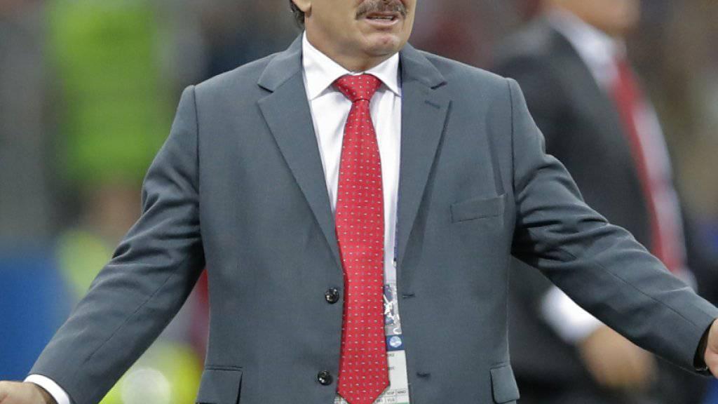 Das WM-Ausscheiden kostete Costa Ricas Nationalcoach den Job