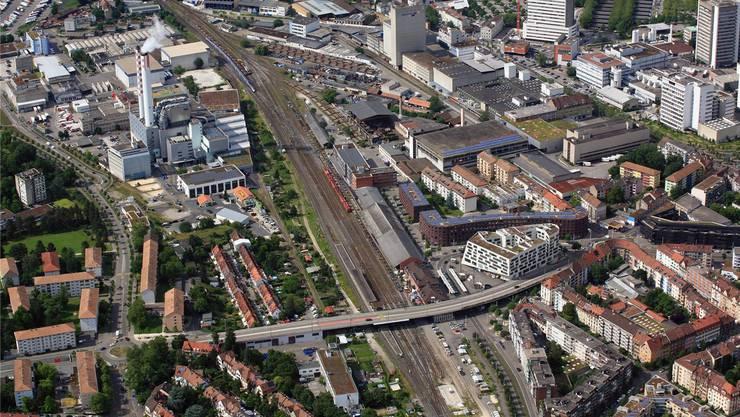 Der Kanton Basel-Stadt und die SBB wollen das teilweise bereits brachliegende Gelände aufpeppen.