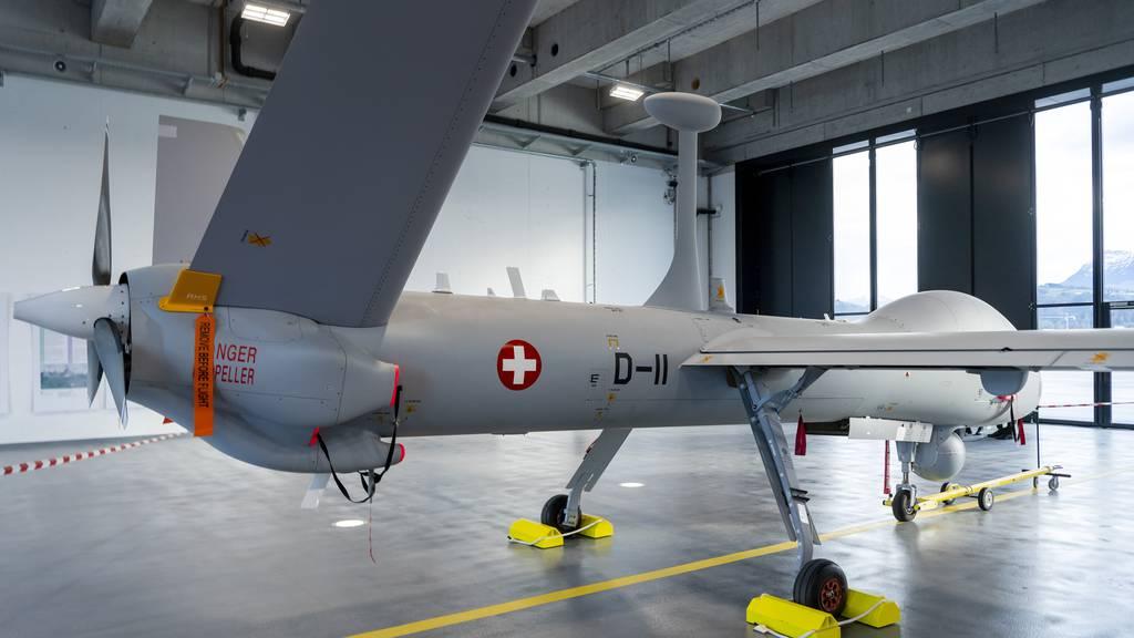 Drohne für die Schweizer Armee über Israel abgestürzt