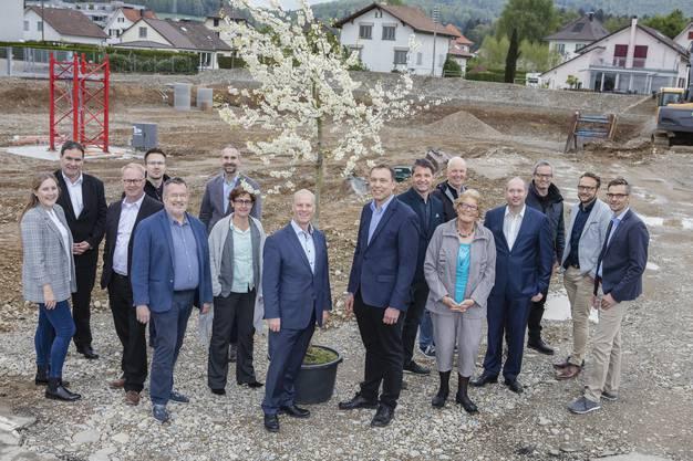 Anfang Mai haben die Bauarbeiten auf dem Areal der Stiftung Wendepunkt begonnen.