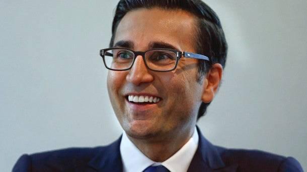 Will am Dienstag bei der UBS starten: Iqbal Khan. Bild: Reuters
