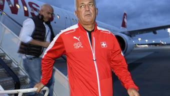 Das Schweizer Fussball-Nationalteam (im Bild Nationalcoach Vladimir Petkovic) wird im neuesten FIFA-Ranking im 7. Rang geführt
