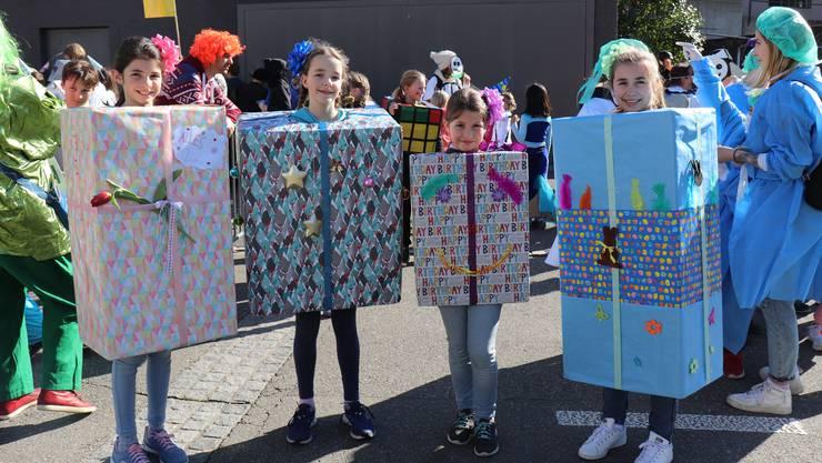Kinderfasnacht in Ennetbaden, Ehrendingen und Freienwil 2020