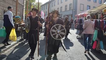 Ab morgen Abend werden Wachmänner, Ritter und Magier am zweiten Mittelalterfest nach 2016 durch die Altstadtgassen in Rheinfelden ziehen.