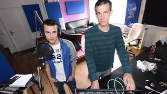 Verbringen viel Zeit im Studio: Trace und Dirty D.