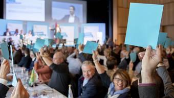 Höheres Rentenalter und tiefere Renten in der zweiten Säule: Die Delegierten der FDP beschlossen am Samstag in Flawil eine Resolution zur Altersvorsorge.