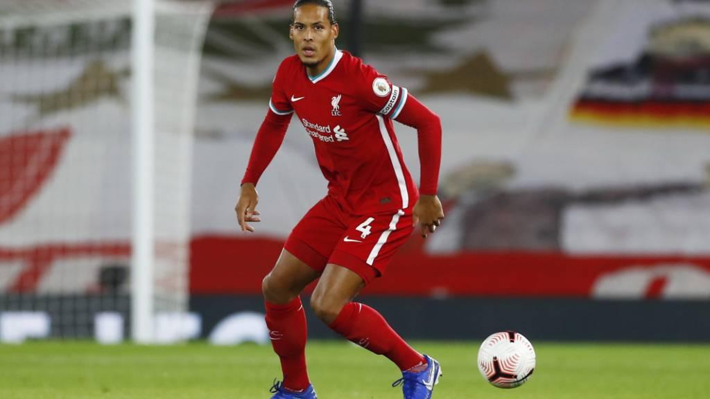 Liverpool-Verteidiger Van Dijk muss operiert werden