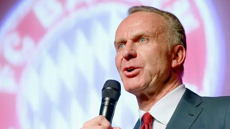 Rhetorisch immer für Bayern München da: Karl-Heinz Rummenigge