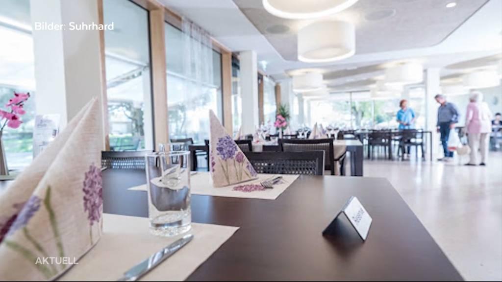 Öffentlich zugängliches Restaurant in einem Altersheim in Buchs: Ist das noch Corona-konform?