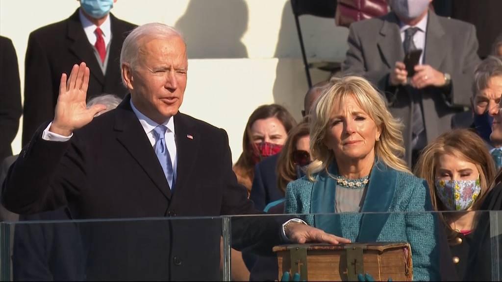 Hier wird Joe Biden vereidigt
