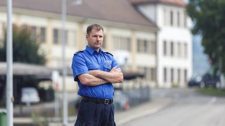Christian Ambühl, der neue Kommandant der Stadtpolizei, ist seit 100 Tagen im Amt.