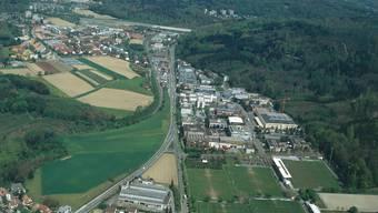 Entwicklungsgebiet: Am Stadtrand in Dättwil soll Baden noch einmal tüchtig wachsen können.