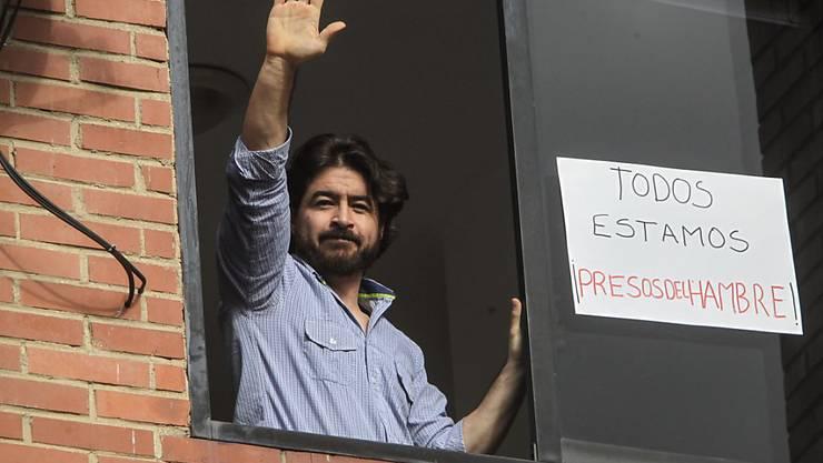 Der venezolanische Oppositionsführer Daniel Ceballos ist vom Hausarrest wieder in ein Gefängnis überführt worden. (Archivbild)