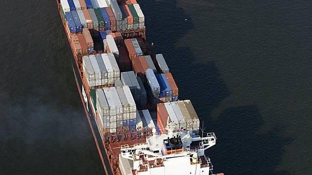 Warentransport auf dem Seeweg (Archiv)