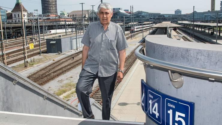 Angekommen: Der 61-jährige Ali Iscan ist nach fast sechs Monaten wieder zurück in der Schweiz. Hier lebt er seit 36 Jahren.