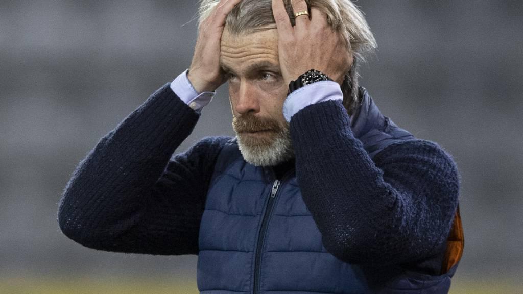 Kein Spiel heute Abend: Aarau-Trainer Stephan Keller