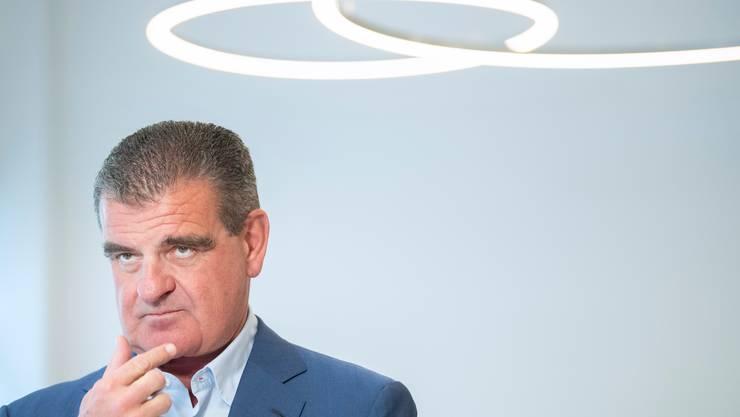 Peter Spuhlers Firma Stadler Rail ist Ziel einer Cyberattacke geworden und wird erpresst.