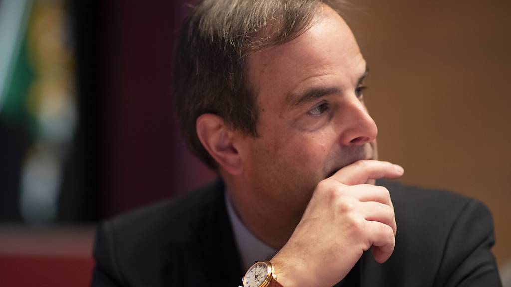 Der Parteipräsident der CVP, Gerhard Pfister, hat sich in einem Interview skeptisch bezüglich des EU-Rahmenabkommens gezeigt. (Archivbild)