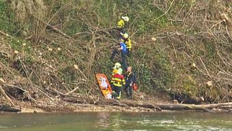 Mann stürzte am Sonntagnachmittag am Rheinfall zu Tode