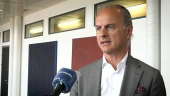 Roberto Belci im Interview über Filialschliessungen, Sponsorings und das Aargauer Gewerbe.