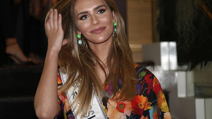 Angela Ponce, die amtierende Miss Spanien, tritt zur Wahl der schönsten Frau der Welt an. Geboren wurde sie indes als Junge. (AP Photo/Sakchai Lalit)
