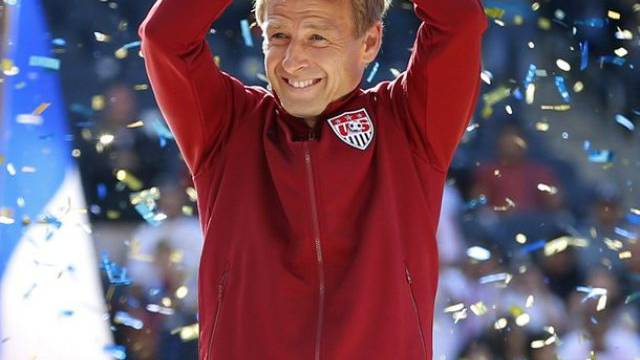Ein Hoch auf Amerika: Jürgen Klinsmann (Archiv)