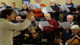 Wettingen: Der Singkreis probt fürs Adventskonzert.
