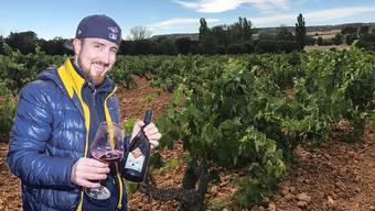 Im Weinberg des Produzenten Legaris soll sich der individuelle Charakter des Weins entwickeln.