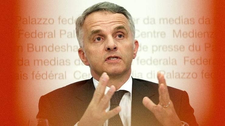 Didier Burkhalter zum Krankenkassen-Aufsichtsgesetz.  key