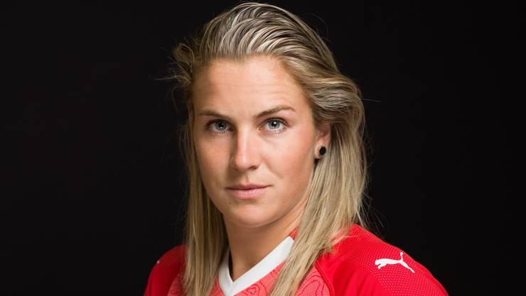 Trifft zum 2:0 - Ana Maria Crnogorcevic.