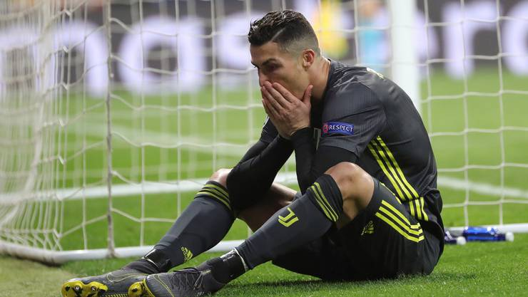 Cristiano Ronaldo gelingt gegen Atletico Madrid kein Tor.
