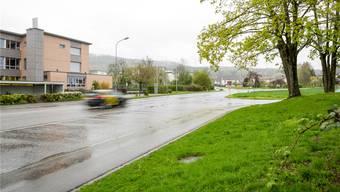 Die Zentralstrasse beim Schulzentrum Nidermatt birgt laut Kommunalem Gesamtplan Verkehr ein Gefahrenpotenzial für Schüler.