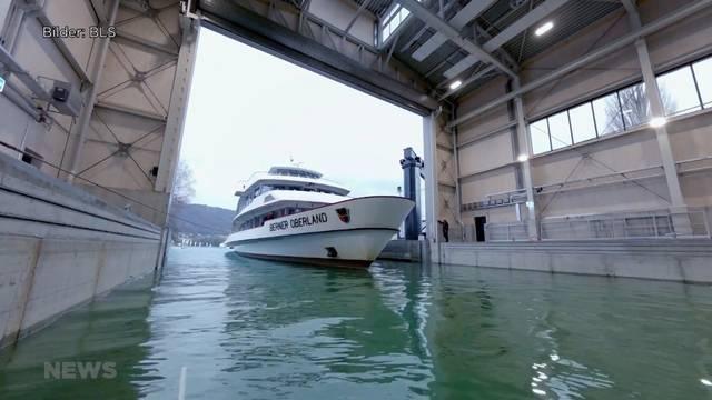 Neue Werft in Thun