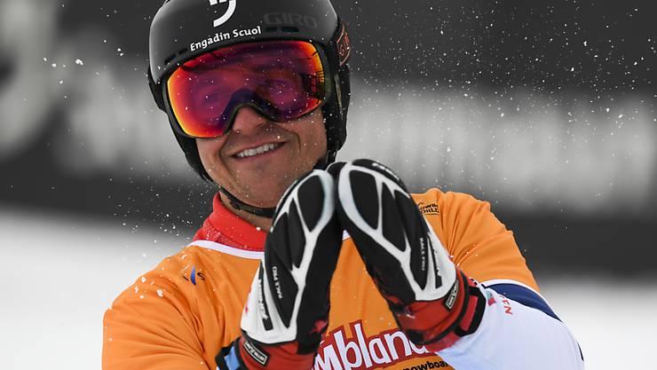 Nevin Galmarini fuhr in Cortina d'Ampezzo auf Platz 2 (Archivbild)