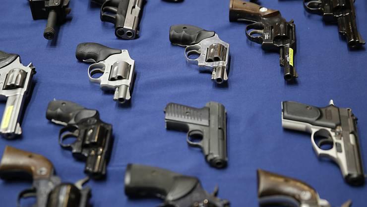 US-Polizei beschlagnahmt tausende Waffen - bei einem einzigen Mann (Symbolbild)