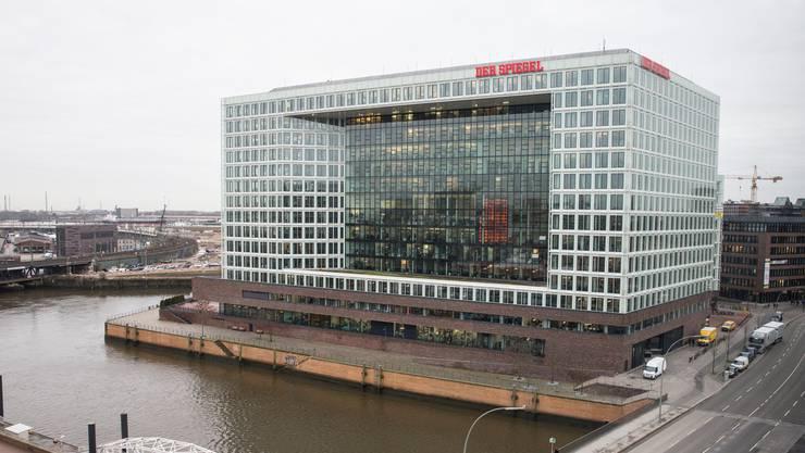 """Der Sitz des """"Spiegels"""" in Hamburg."""