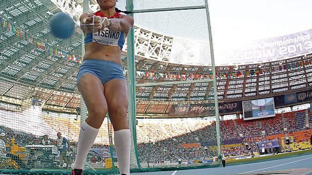 Tatjana Lysenko mit überragender Leistung.
