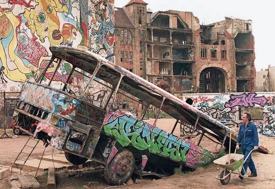 Das Kulturhaus Tacheles war das Symbol des hippen Kreativ-Berlins.