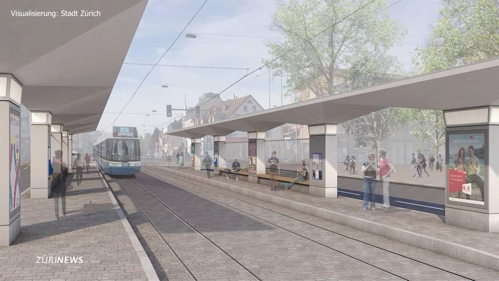 Affoltern: So wird die neue Tramstation aussehen