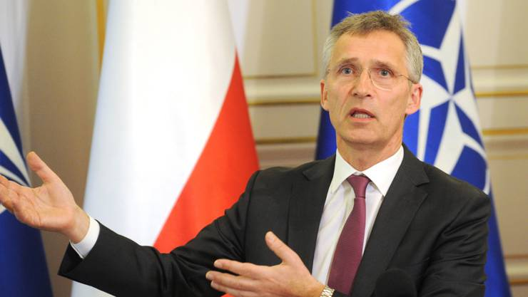 Nato-Generalsekretär Jens Stoltenberg äusserte seine Sorge darüber, dass die «Admiral Kusnezow» als «Plattform für Angriffe» in Syrien eingesetzt werden könnte.