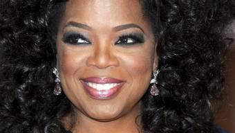 Ist für ihre Spenden bekannt: US-Talkmasterin Oprah Winfrey (Archiv)