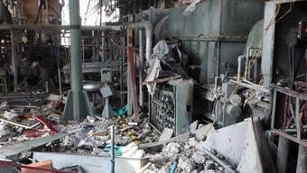 Das zerstörte AKW in Fukushima