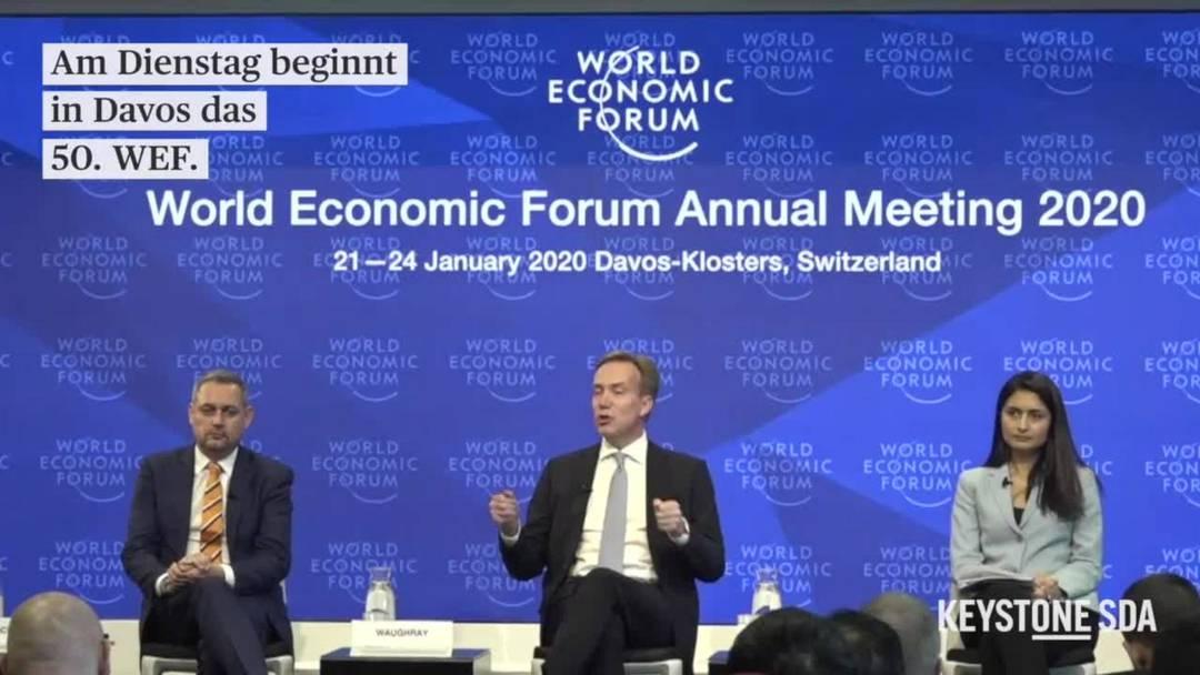 Das 50. WEF beginnt - ein Rückblick