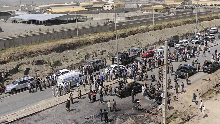 Trotz ungewisser Sicherheitslage in Afghanistan hat Deutschland erneut abgelehnte Asylbewerber nach Kabul gebracht, wie Flughafenmitarbeiter mitteilten. (Symbolbild)