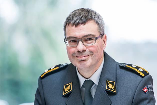 Divisionär Hans-Peter Walser
