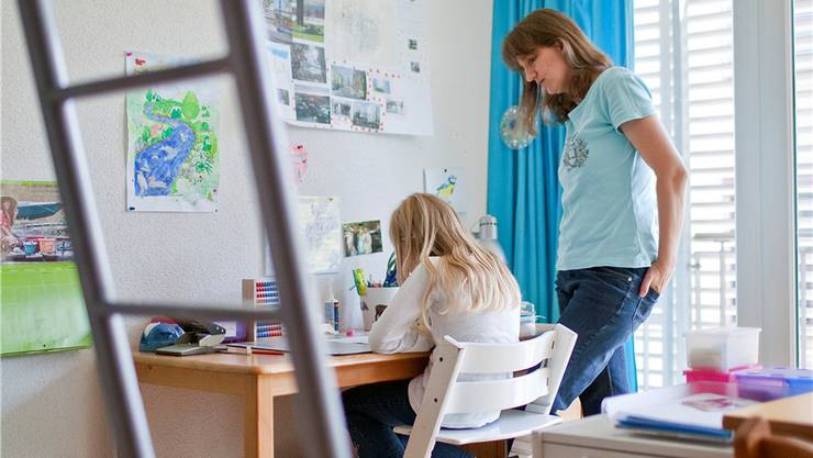 Heimunterricht (hier in einer Zürcher Familie) ist in der Schweiz eine Randerscheinung. Basler Eltern kämpfen für mehr Freiheit.Keystone