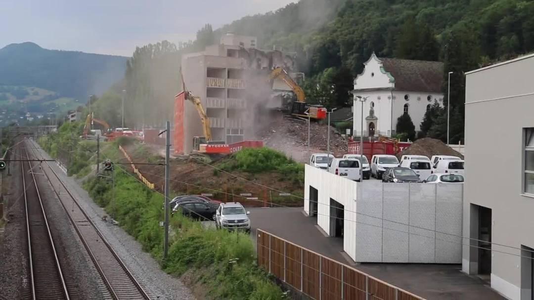 Das La Cappella in Baden wird abgerissen.