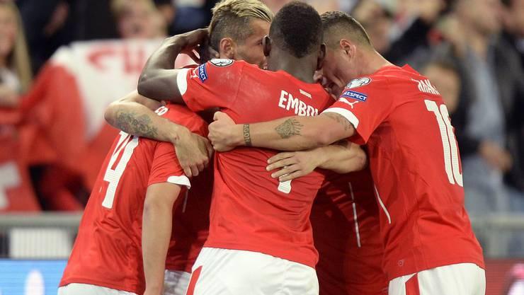 Das Schweizer Kollektiv überzeugt beim Sieg gegen San Marino.