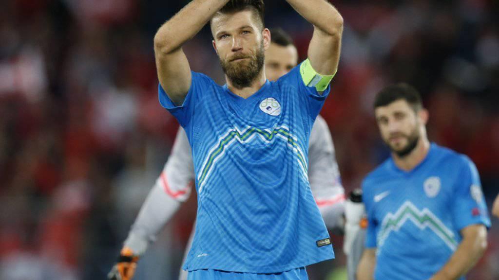Knapper Sieg: Sloweniens behauptet den dritten Platz