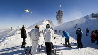 Skifahrer auf dem Titlis (Archiv)